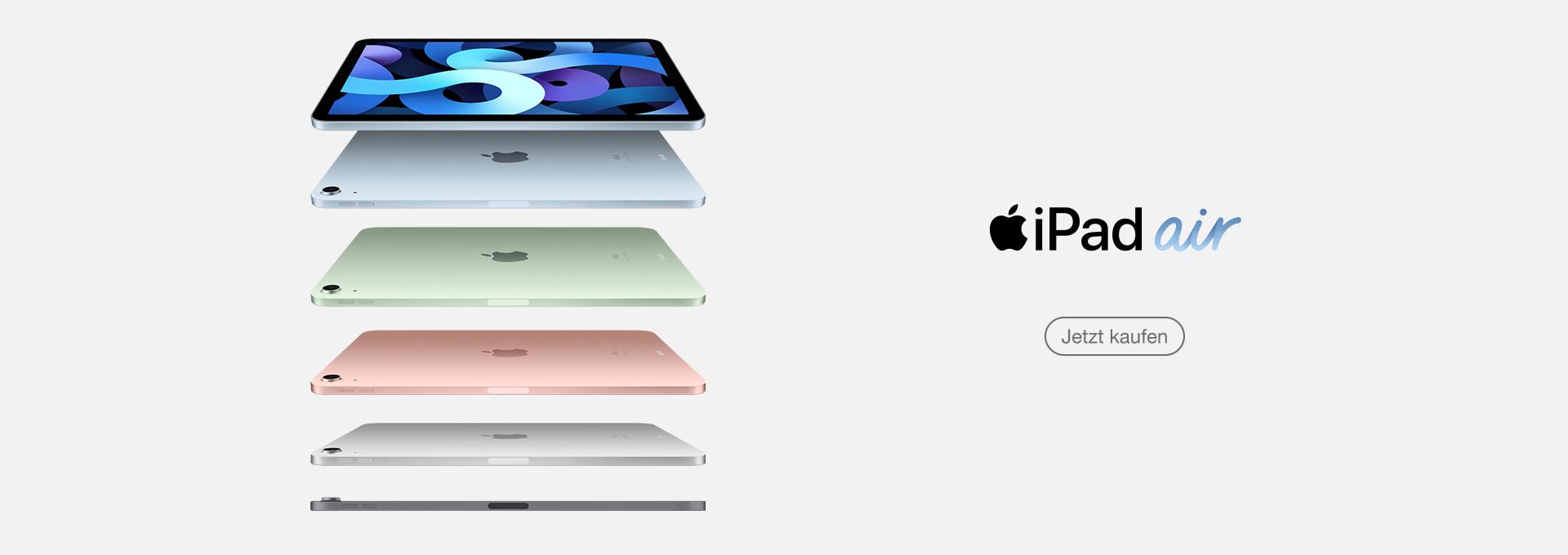 Alle iPad Modelle