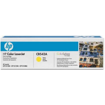 Toner HP: Color LJ CM1312nfi, yellow, 1'400 Seiten