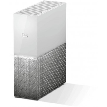 """WD 4 TB My Cloud Home NAS Server 3.5"""", silber/weiss"""