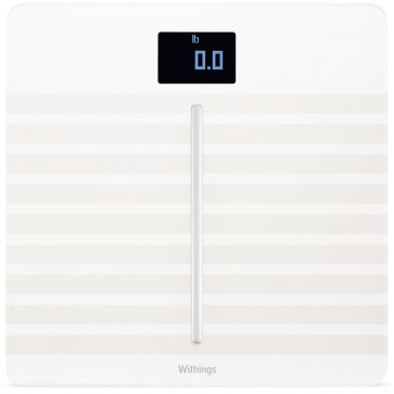 Withings Body Cardio, Körperanalyse WLAN-Waage, weiss