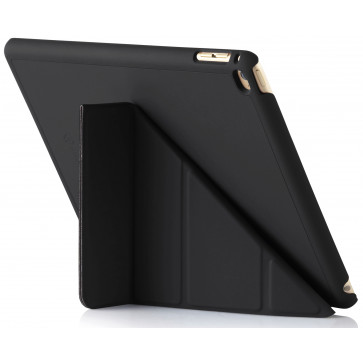 Origami Case, iPad Air 2, schwarz, Pipetto