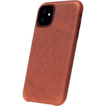 "Leder Backcover, iPhone 11 (6.1""), braun, Decoded"