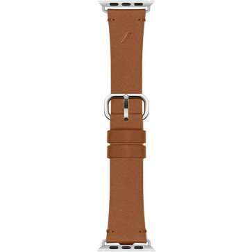 Classic Lederarmband für Apple Watch 38/40mm, braun, Native Union