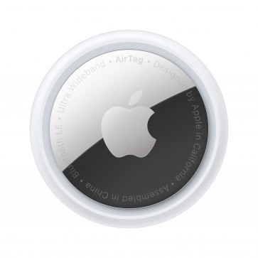Apple AirTag, Ortungs-Tracker, weiss/silber (1er-Pack)