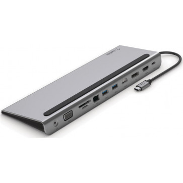 Belkin USB-C 11 in 1 Multiport Dock, spacegrau