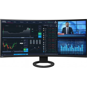"EIZO EV3895 Swiss Edition, 37.5"" 4K QHD+ Ultra Wide 4K Monitor, 85 Watt USB-C (Thunderbolt3), schwarz"