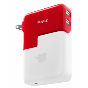 Twelve South PlugBug Duo World Adapter / 12W Dual USB für MacBook Netzteil