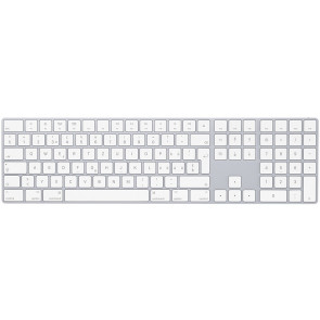 Apple Magic Keyboard mit Zahlenblock (SM), (NNOV) ohne Lightning-Kabel