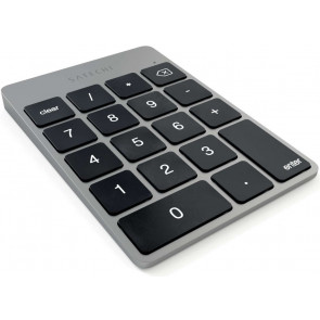 Satechi Slim Alu Keypad, Bluetooth Zahlenblock, spacegrau