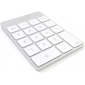 Satechi Slim Alu Keypad, Bluetooth Zahlenblock, silber