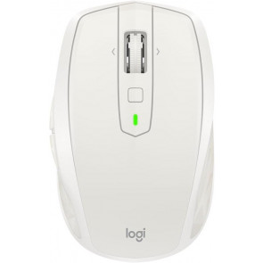Logitech MX Anywhere 2S Maus, Bluetooth/Cordless, hellgrau