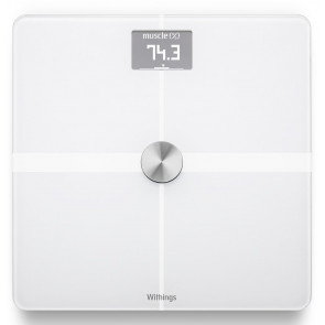 Withings Body+, Körperanalyse WLAN-Waage, weiss