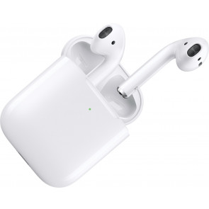 Apple AirPods mit kabellosem Ladecase, Bluetooth In-Ear Kopfhörer (2019)