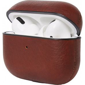 Decoded Leder Case für Apple AirPods Pro, braun