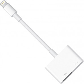 Lightning Digital AV Adapter, iPad/mini/iPhone, Apple