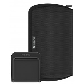 Mophie Travel Kit Reiseset, mit 5 AC Adapter, schwarz