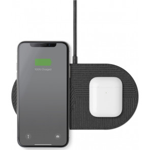 Native Union DROP Wireless Charger XL für iPhone, grau