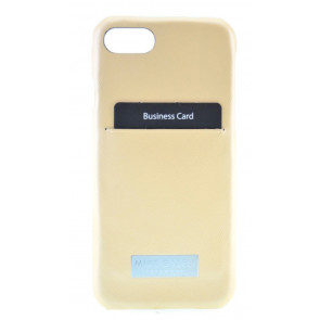 "Back Case Adam, iPhone 8/7 (4.7""), gold-beige, Galeli"