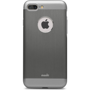 "Moshi iGlaze Armour, Alu Hardcase für iPhone 7,  plus (5.5""), Gunmetal Grey"