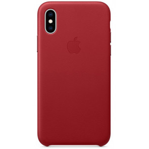 "Leder Case, iPhone XS Max (6.5""), rot (PRODUCT), Apple"