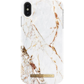 Designer Hardcase, iPhone XS Max (6.5), Carrara Gold, iDeal of Sweden