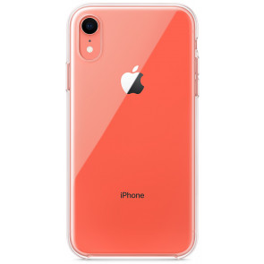 Apple Clear Case, iPhone XR, clear