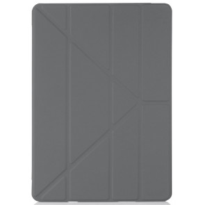 "Origami Case TPU, 10.2"" iPad (2019), dunkelgrau, Pipetto"