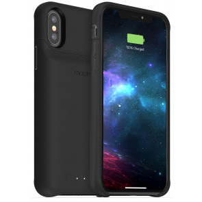 Mophie Juice Pack Access Qi, iPhone X/XS, 2000mAh Akku, schwarz