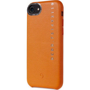 Leder Back Cover, Pop Color, iPhone 8/7/6s/6, orange, Decoded