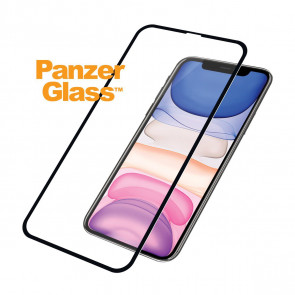 "Screen Protector Case Friendly, iPhone 11 Pro, XS  (5.8""), clear, schwarz Panzerglass"