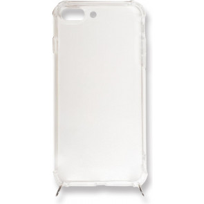 Jalouza Necklace-Cover ohne Band für iPhone 8/7/6S/6 Plus, transparent