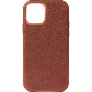 """Decoded Leder Backcover, iPhone 12 Pro Max (6.7""""), Braun"""