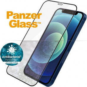 "Screen Protector Case Friendly, iPhone 12 mini, (5.4""), clear, schwarz Panzerglass"