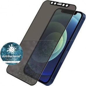 "Screen Protector Case Friendly, iPhone 12 mini, (5.4""), Privacy, schwarz Panzerglass"