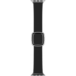 Modernes Lederarmband Small für Apple Watch 38, 40 mm, schwarz