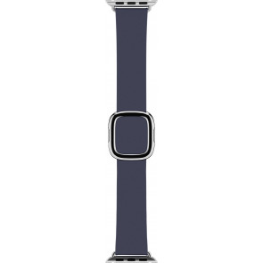Modernes Lederarmband Small für Apple Watch 38, 40 mm, nachtblau