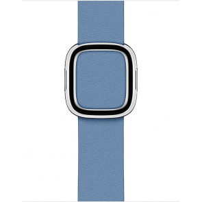 Modernes Lederarmband M für Apple Watch 38/40 mm, Kornblume (Saisonal)