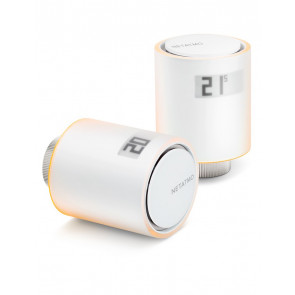 Netatmo Smart Radiator Valves Starter Pack; 2 Thermostate