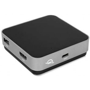 OWC USB-C Travel Dock 100W, spacegrau