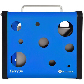 Lock n Charge CarryOn 5 Bay Charging Station für iPad, blau