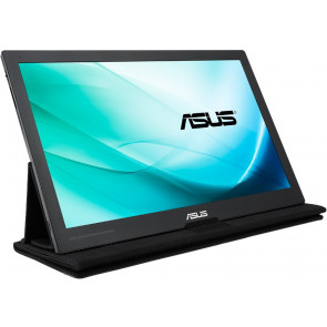"Asus 15.6"" MB169C+ Portable USB-C LED Monitor, schwarz"