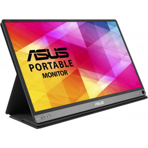 "DEMO: Asus 15.6"" MB16AC Portable LED Monitor, schwarz/silber"