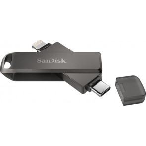 128GB Flash Drive, iXpand Luxe, USB-C, Lightning Stick, SanDisk