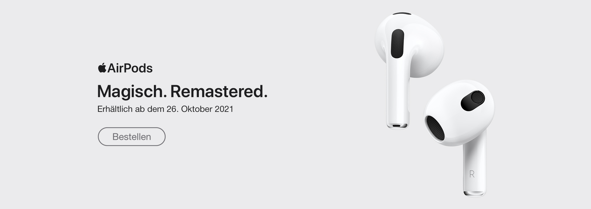 Slider Apple AirPods 3. Generation