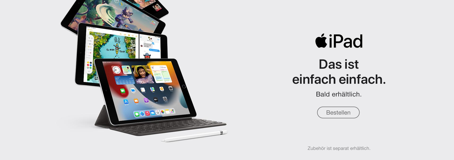 Jetzt Apple iPad kaufen