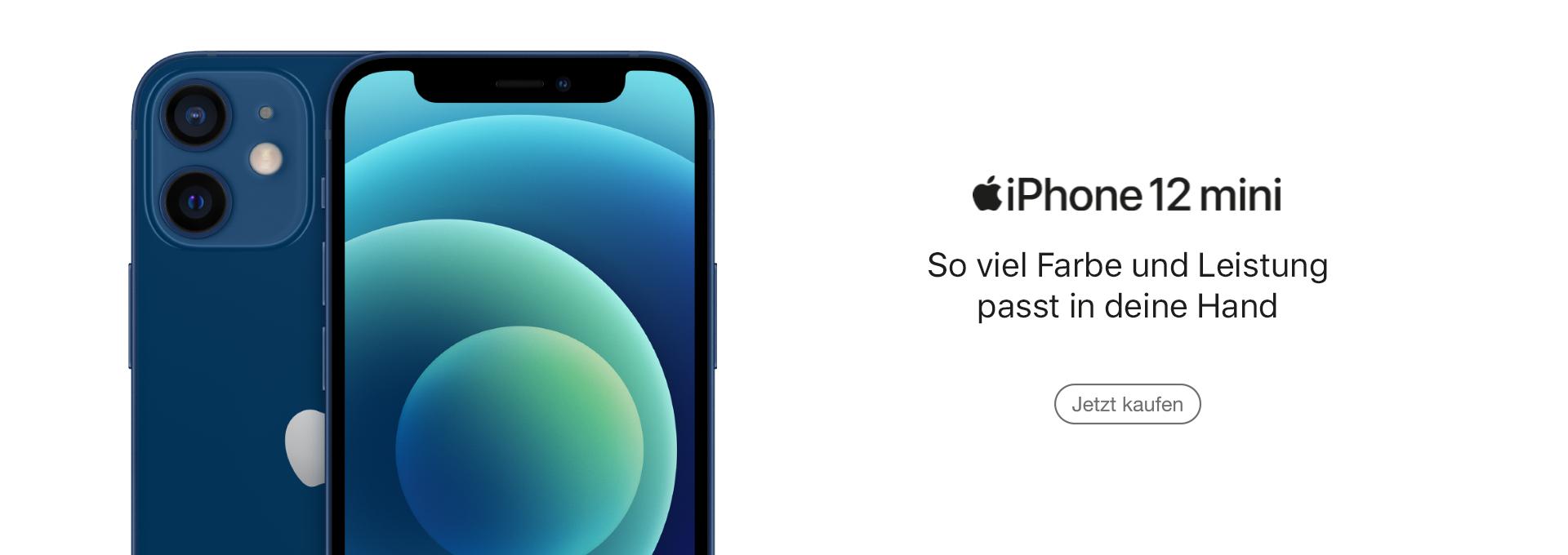 Jetzt Apple iPhone 12 mini kaufen