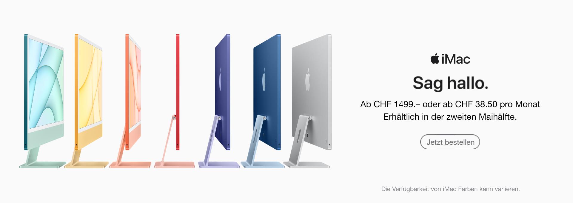 Slider Apple iMac 24 Zoll