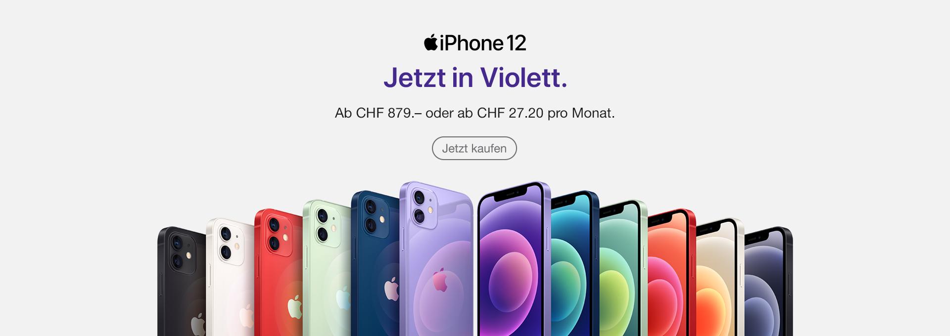Slider Apple iPhone 12 purple