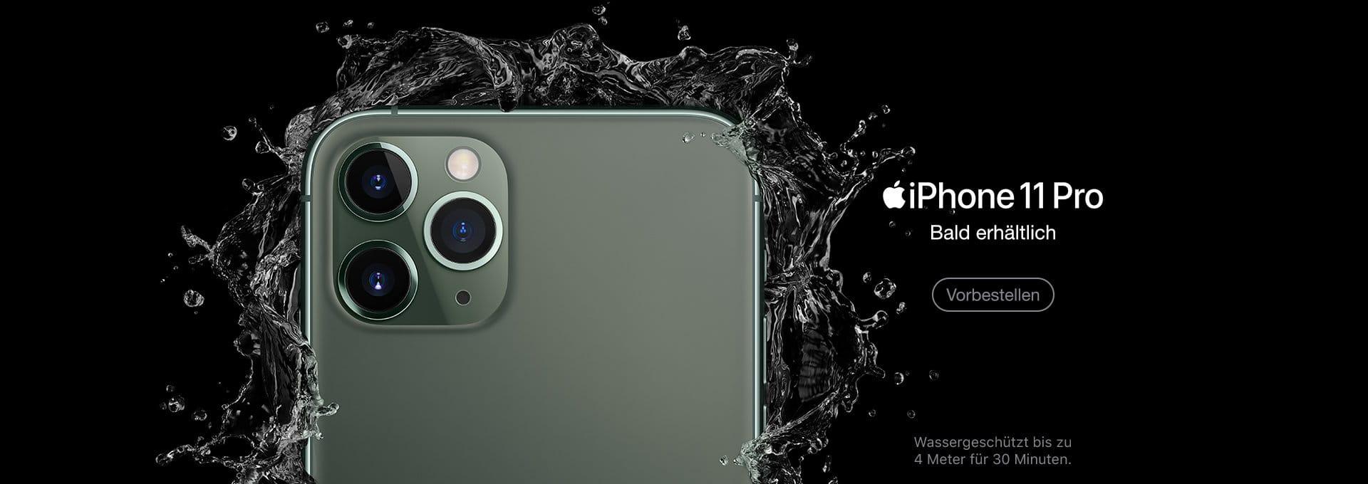 Apple iPhone 11 Pro und Max vorbestellen