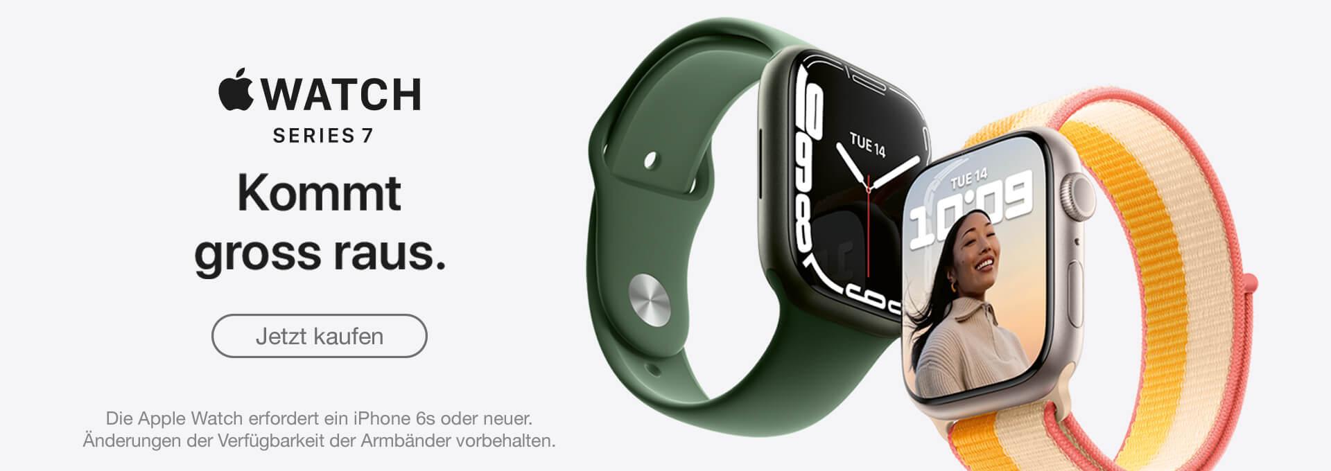 Slider Apple Watch Series 7